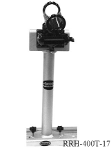 Tall C-Clamp Base w/Salty Rod Holder