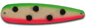 229-Warrior Watermelon Hot GlowTrolling Spoon